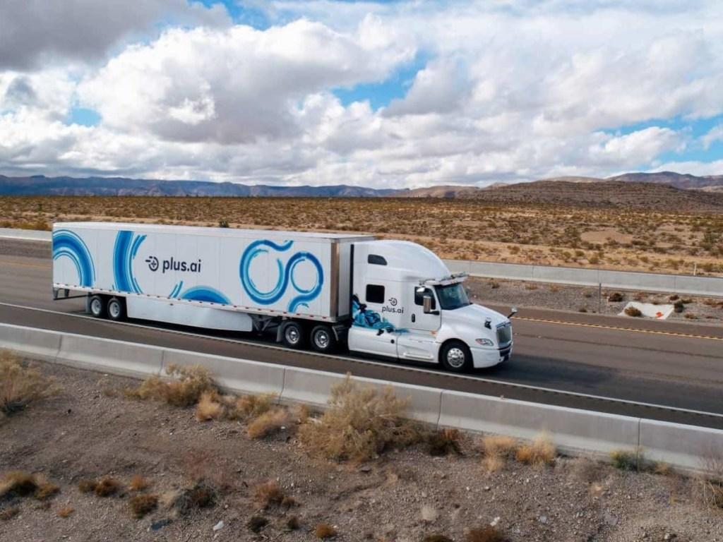 беспилотный грузовик