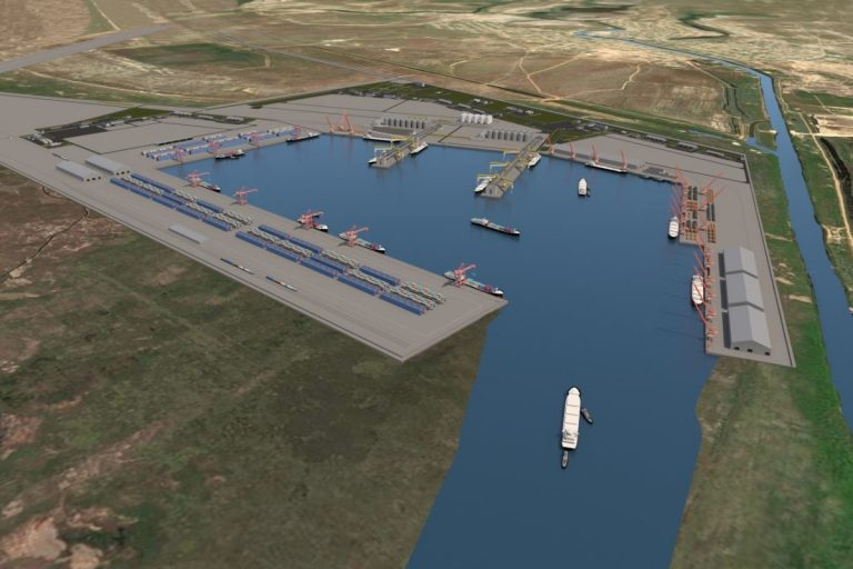 новый морской порт