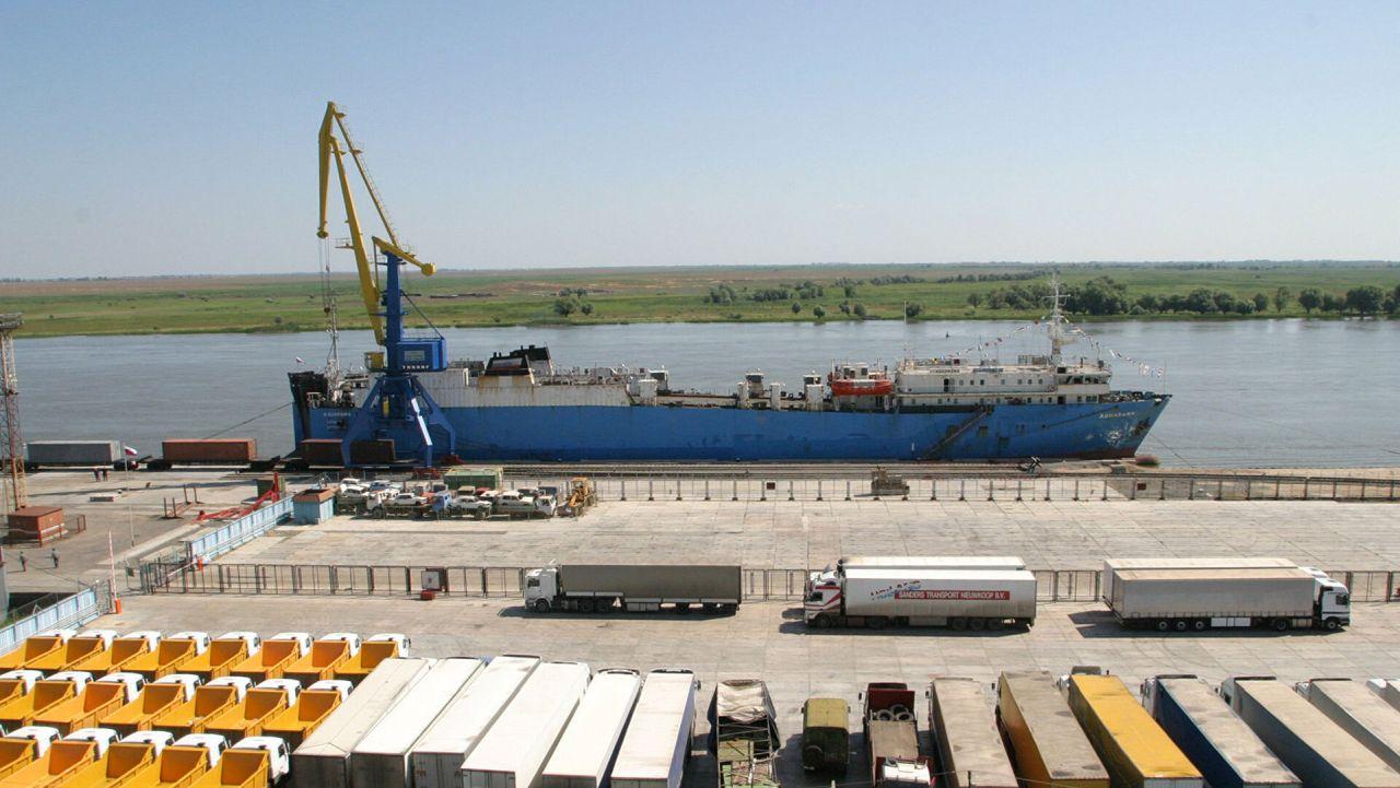 портовая зона