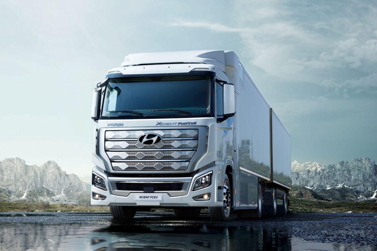 водородные грузовики